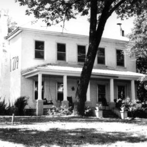 Front view, Thomas Rhyne House, Gaston County, North Carolina