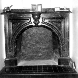 Fireplace, John Milton Odell House, Concord, Cabarrus County North Carolina