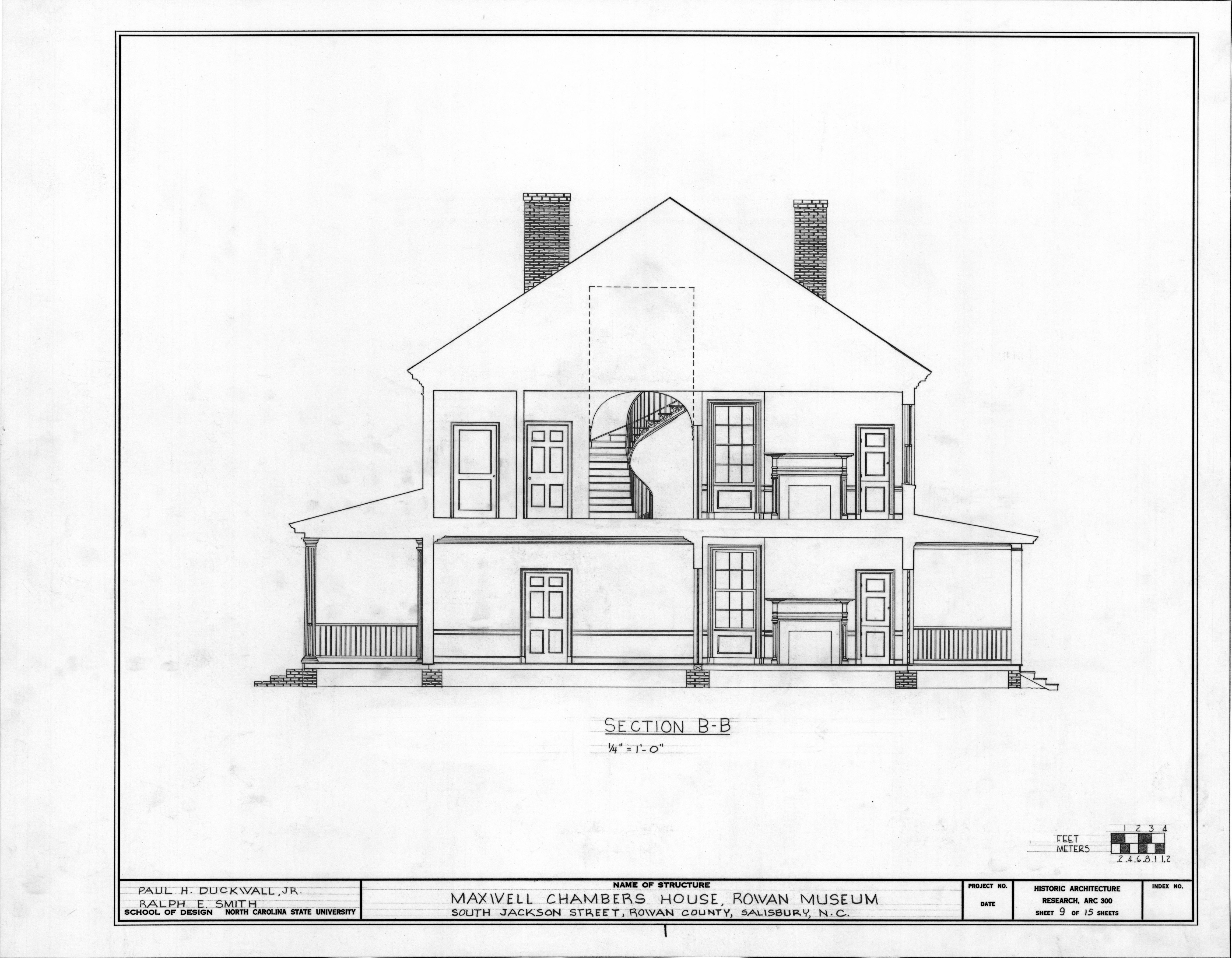 Cross Section Drawing of a House House Cross Section Drawing