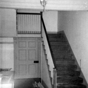 Interior view, Barker-Moore House, Edenton, Chowan County, North Carolina