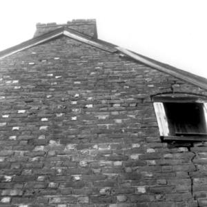 Exterior detail, Matthew Moore House, Stokes County, North Carolina