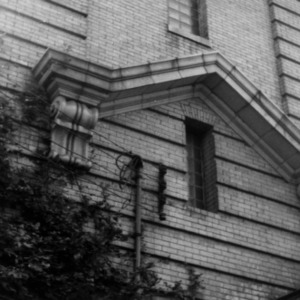 Exterior detail, Union Station, Durham, Durham County, North Carolina