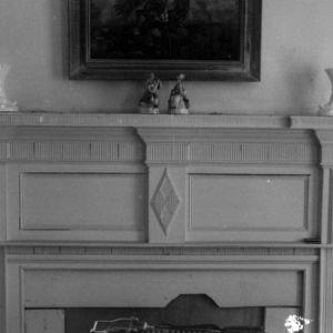 Fireplace, Bowers House, Halifax County, North Carolina