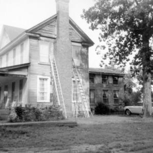 Side view, I. H. Foust House, Randolph County, North Carolina