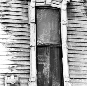 Window, William Worrell Vass House, Raleigh, North Carolina