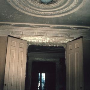 Interior view, Blandwood, Greensboro, Guilford County, North Carolina