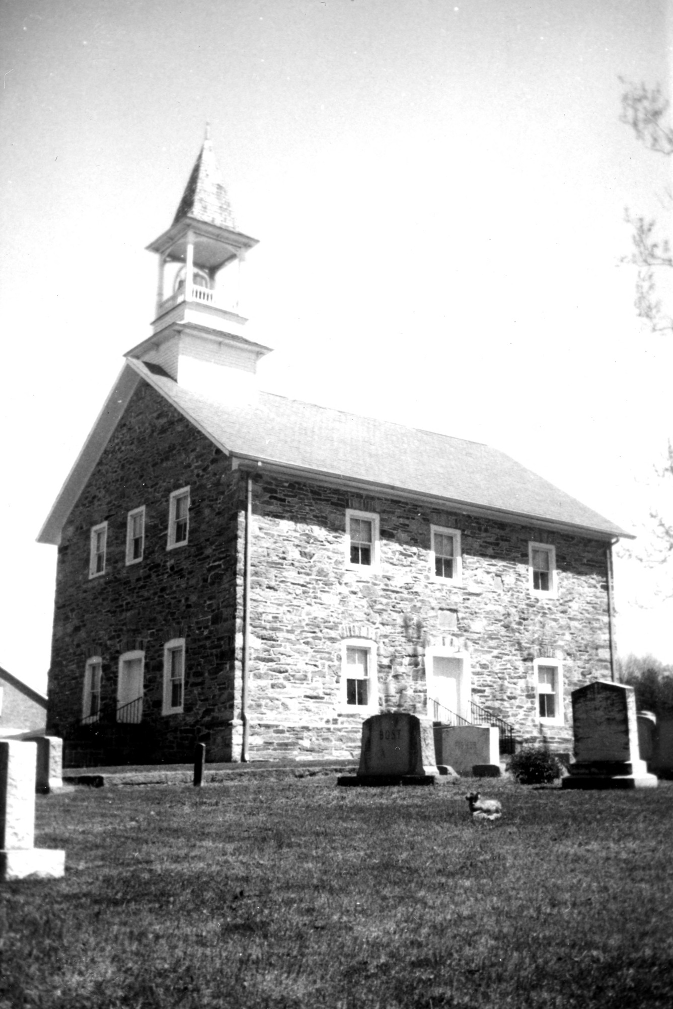 View, Grace Evangelical and Reformed (Lower Stone) Church, Rowan County, North Carolina