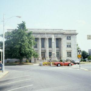 View, Alamance County Courthouse, Graham, Alamance County, North Carolina
