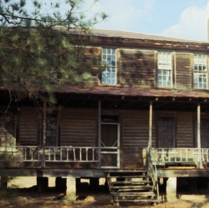 Front view, Billy Horne Farm, Anson County, North Carolina