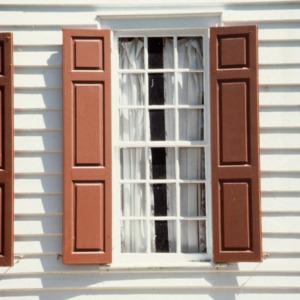 Window, Palmer-Marsh House, Bath, Beaufort County, North Carolina