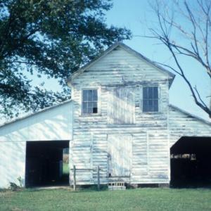 Barn view, Garrett-White House, Bertie County, North Carolina