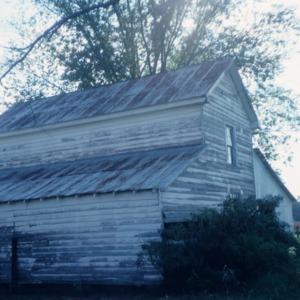 Barn side view, Garrett-White House, Bertie County, North Carolina