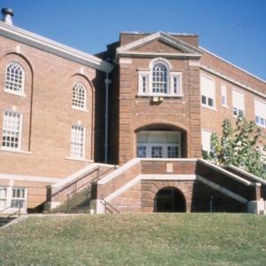 Partial view, Biltmore School, Asheville, Buncombe County, North Carolina