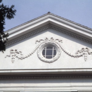 Exterior detail, Biltmore School, Asheville, Buncombe County, North Carolina
