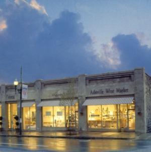 View, Coker Building, Buncombe County, North Carolina