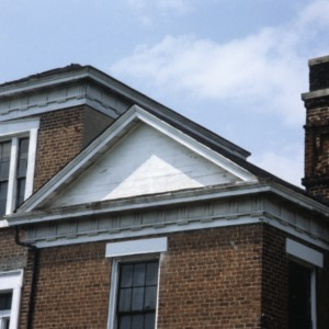 Exterior detail, Ravenscroft School, Asheville, Buncombe County, North Carolina