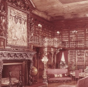 Interior view, Biltmore Estate, Asheville, Buncombe County, North Carolina