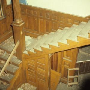 Stairs, Richmond Hill, Buncombe County, North Carolina