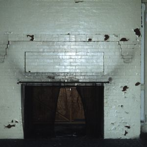 Fireplace, Manor and Cottages, Asheville, Buncombe County, North Carolina