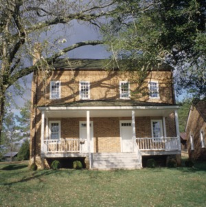 Front view, Quaker Meadows, Burke County, North Carolina