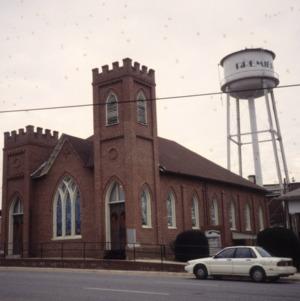 View, Gaston Chapel A.M.E. Church, Morganton, Burke County, North Carolina