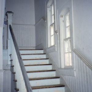 Stairs, Stonewall Jackson Training School, Concord, Cabarrus County, North Carolina