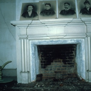 Fireplace, Favoni, Cabarrus County, North Carolina
