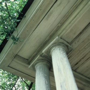 Exterior detail, Favoni, Cabarrus County, North Carolina