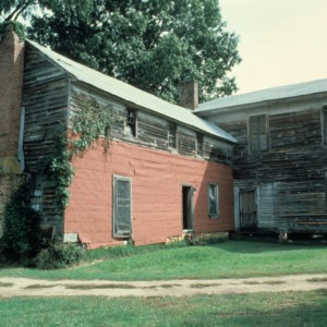 Rear view, Favoni, Cabarrus County, North Carolina