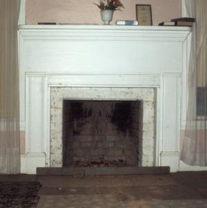 Fireplace, John Bunyan Green Farm, Cabarrus County, North Carolina