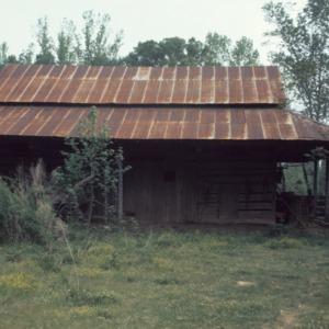 Barn view, John Bunyan Green Farm, Cabarrus County, North Carolina