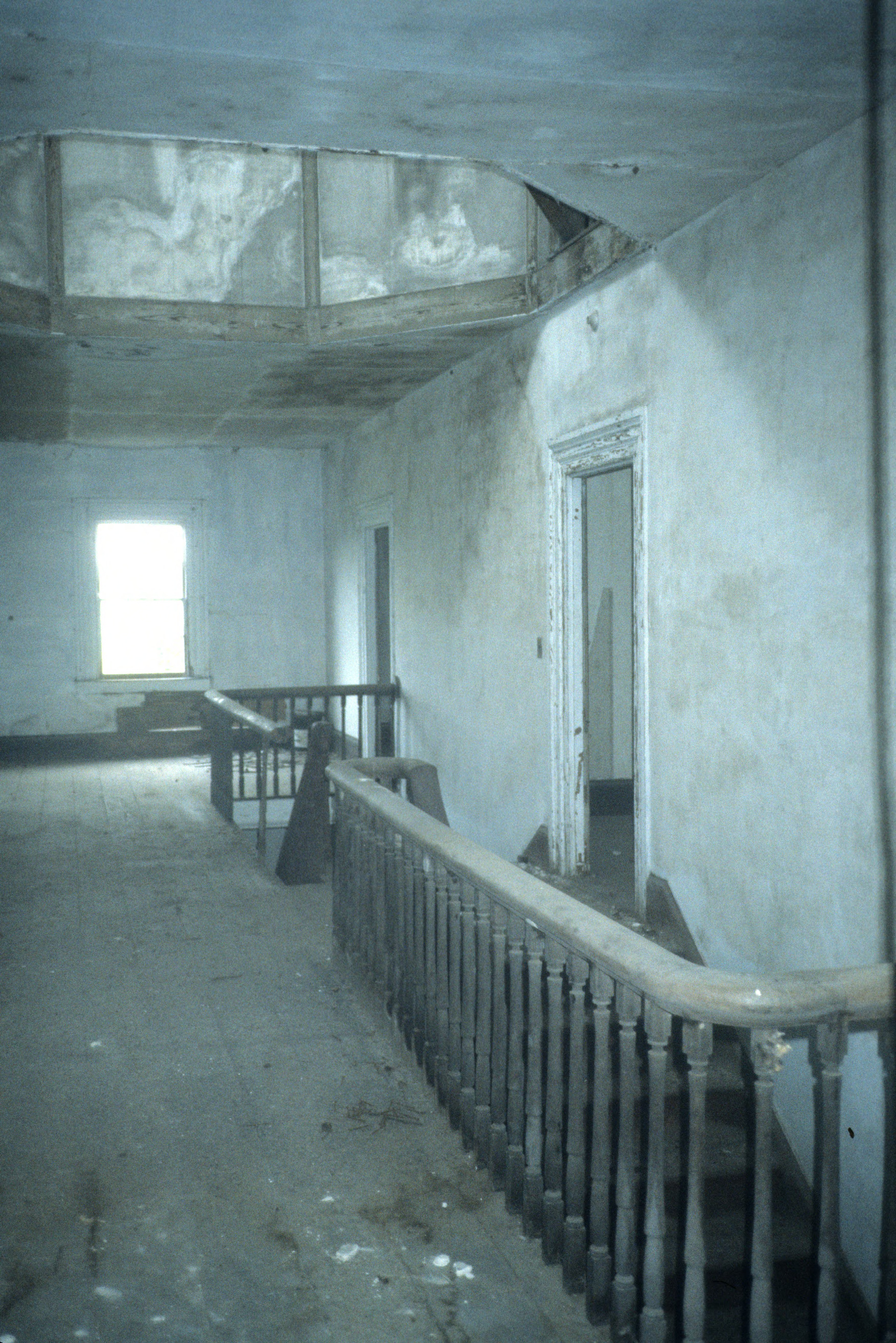 Interior elevation, Octagon House, Carteret County, North Carolina
