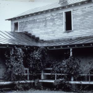 Porch, Carteret County Home, Beaufort, Carteret County, North Carolina