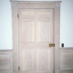 Doorway, Moore-Gwyn House, Locust Hill, Caswell County, North Carolina