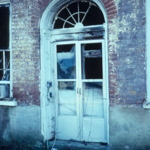Doorway, Union Tavern, Milton, Caswell County, North Carolina