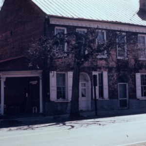 Front view, Union Tavern, Milton, Caswell County, North Carolina