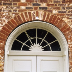 Doorframe, Union Tavern, Milton, Caswell County, North Carolina