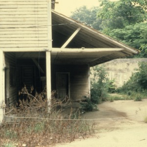 Partial view, Murray's Mill, Catawba County, North Carolina