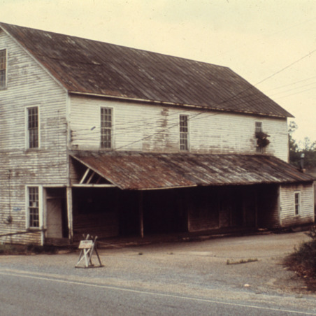 Front view, Murray's Mill, Catawba County, North Carolina