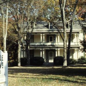 Front view, Maple Grove, Hickory, Catawba County, North Carolina