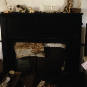 Fireplace, Warlick-Huffman Farm, Bandy's Township, Catawba County, North Carolina