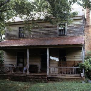 Front view, Warlick-Huffman Farm, Bandy's Township, Catawba County, North Carolina