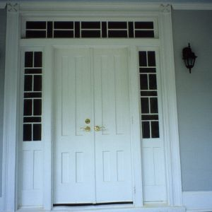 Doorway, John A. Mason House, Chatham County, North Carolina