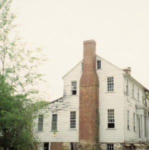 Side view with chimney, Kelvin, Pittsboro, Chatham County, North Carolina