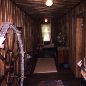 Interior view, Glen Choga Lodge, Macon County, North Carolina