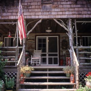 Entrance, Glen Choga Lodge, Macon County, North Carolina