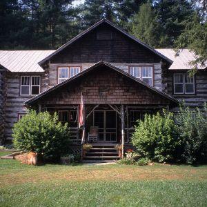 Front view, Glen Choga Lodge, Macon County, North Carolina