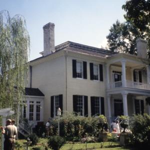 View, Beverly Hall, Edenton, Chowan County, North Carolina