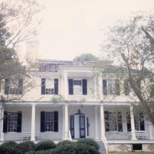 Front view, Beverly Hall, Edenton, Chowan County, North Carolina