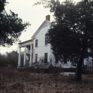 Side view, Athol Plantation, Chowan County, North Carolina